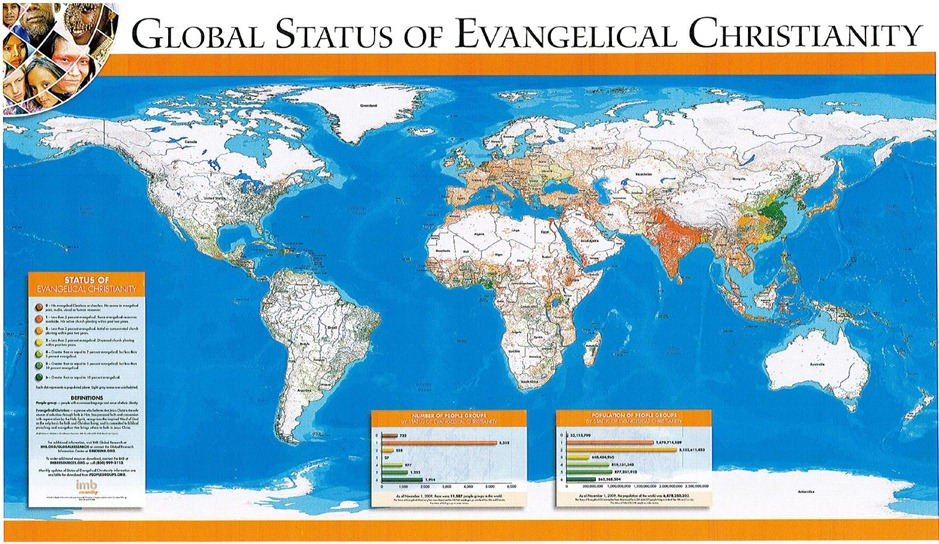 Global Status of Evangelical Christianity 2010